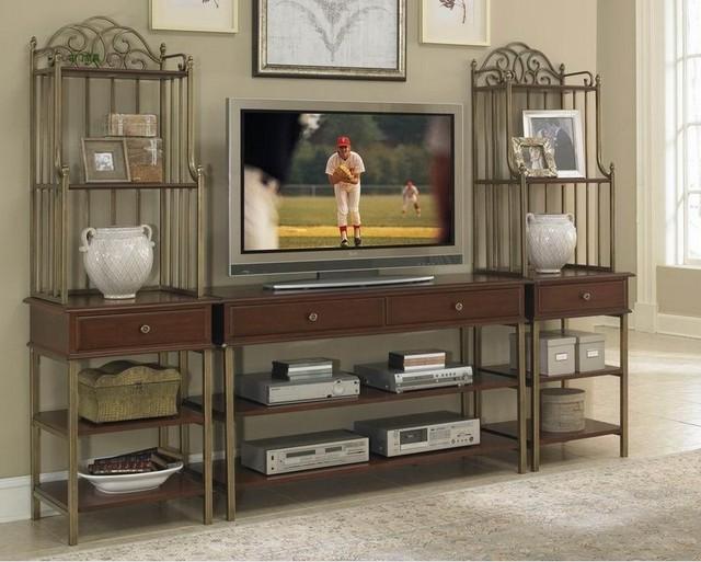 continental iron vierkante nerd woonkamer tv kast aan de oude