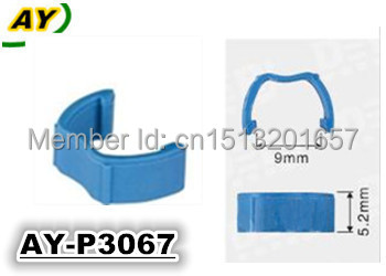 Free shipping! top quality  fuel injector  repair kits colored plastic clip gasket   AY-P3067  with 500pieces