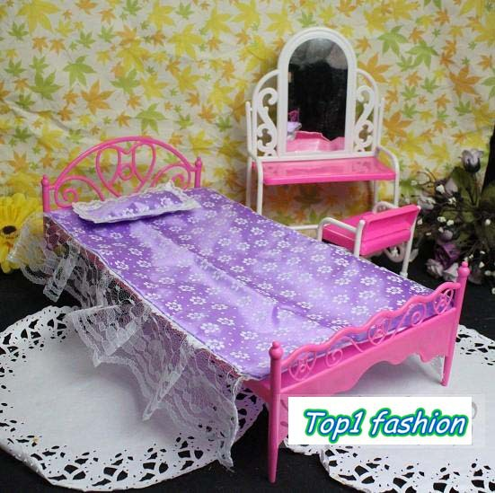 New arrival discount christmas gift dressing table bed Christmas table dressing