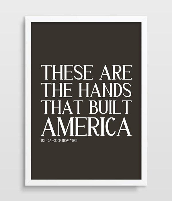 Gangs Of New York Poster U2 Song Lyrics Movie Poster Film Living