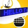82 СМ 16*160 pixel P5 SMD CE утвержден программируемый реклама светодиодный экран знак с Синим цветом и поддержка multi-langua