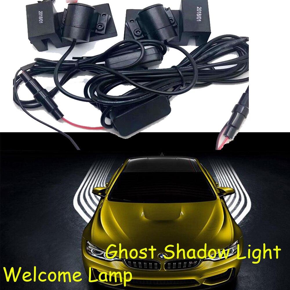 car accessories,LED,Trax door Light,Uplander V1500 Traverse Trailblazer EXT daytime light,Ghost Shadow Light,helmet ghost light
