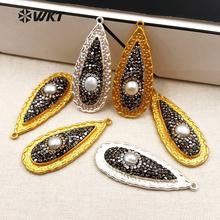 Buy pearl jewelry stone pendant and get free shipping on AliExpress.com afd8685b56e2