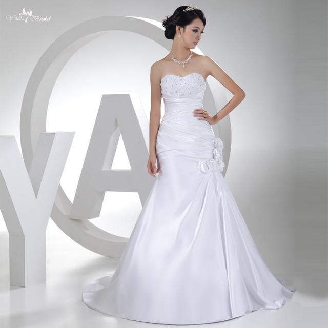 Vestido de novia corte sirena precios