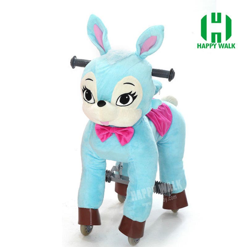 Top Ride On Toys Best Price Hi Ce Walking Mechanical Horse Riding Pony Foal Toy Cavalos Brinquedos Blue Rabbit Boy Girl Kid Gift hot sale life l size horse walking horse toy mechanical horse toy high quality little pony for boy girl children new year gift
