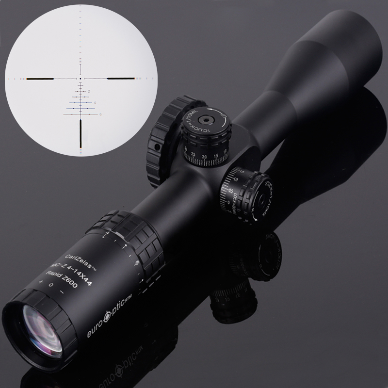 Carl ZEISS 4-14X44 FFP Optics Riflescope Side Parallax Tactical Hunting Scopes Rifle Scope Mounts For Airsoft Sniper Rifle new carl zeiss 5 25x50 ffp optics compact riflescope air rifle optics sniper scope hunting scopes with 20mm 11mm rail mounts