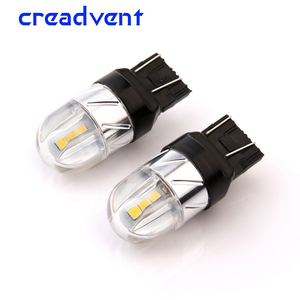 2x Led T20 7443 W21/5w 3030 6SMD 4W Car Light led Turn Signal Brake bulb Rear Reverse lamp auto COB 12V