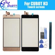 5.0 calowy ekran dotykowy CUBOT H3 szkło 100% gwarancja oryginalny Panel dotykowy Digitizer wymiana dla CUBOT H3