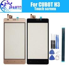 5.0 インチ cubot H3 タッチスクリーンガラス 100% 保証オリジナルタッチスクリーンデジタイザガラスパネルの交換 cubot H3