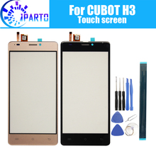 5.0 inch CUBOT H3 Touch Screen Glass 100% Guarantee Original Digitizer Glass Panel Touch Replacement For CUBOT H3