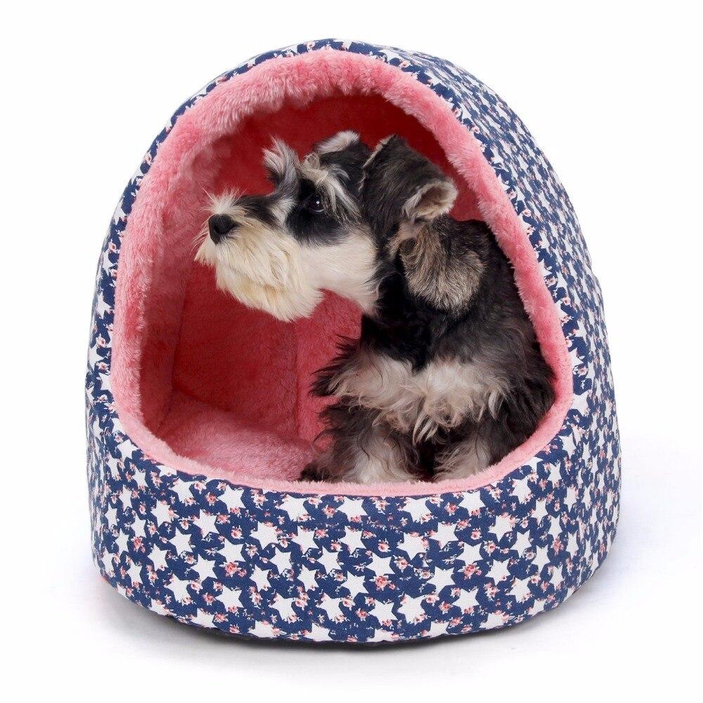 Cama del perro Caliente de Espesor de Algodón Casa Del Animal Doméstico Lindo Pe