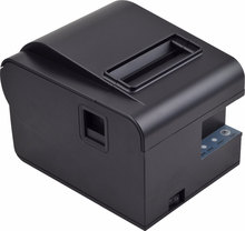 New arrive 80mm auto cutter pos printer Receipt printer Kitchen printer USB/ Ethernet can print QR Code