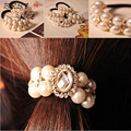 2015 Fashion women hair accessories girl headbands hair band head band pearl hair clip