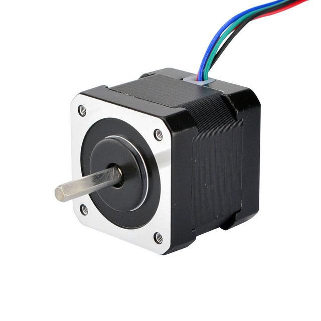 4 Lead Nema 17 Stepper Motor Nema 17 Motor 42BYGH 40mm 17HS4401 45Ncm(64oz.in) 1m Cable Step Motor For DIY CNC 3D Printer