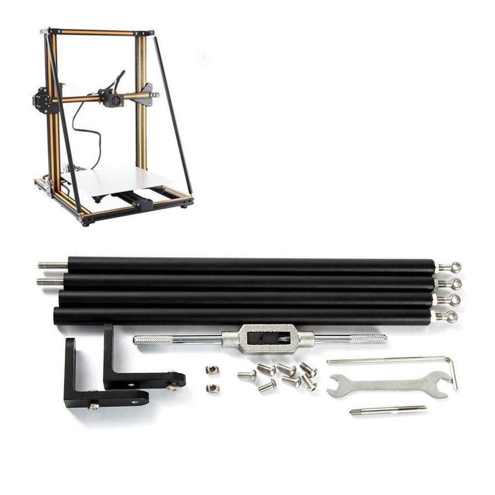 Funssor Creality Kits de tige de soutien pièce de mise à niveau pour CR-10 CR-10S imprimante 3D mise à niveau ensemble de tige de soutien