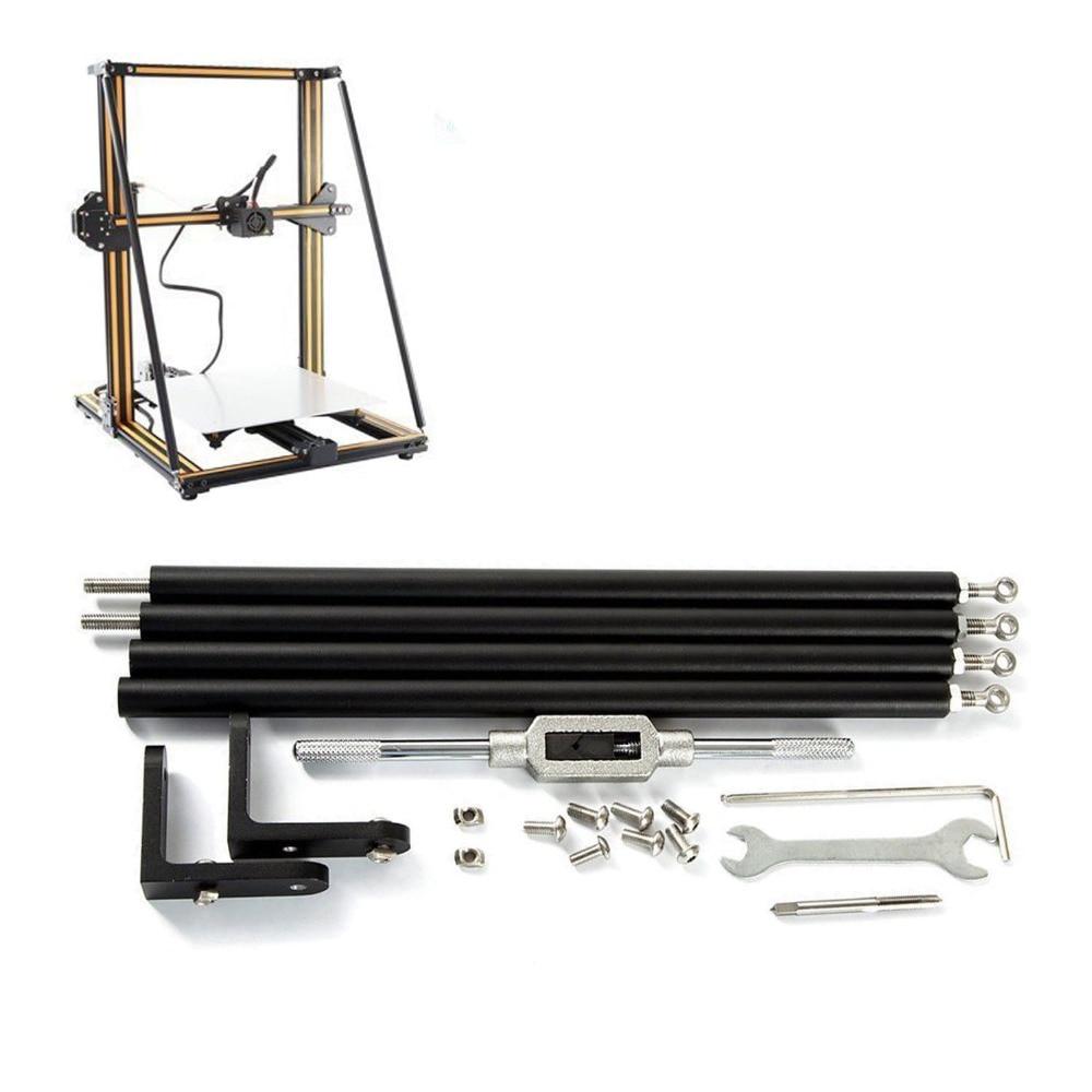 Funssor kit de tige de support, pièce de mise à niveau pour la jeu de tiges de support pour la mise à niveau de limprimante 3D