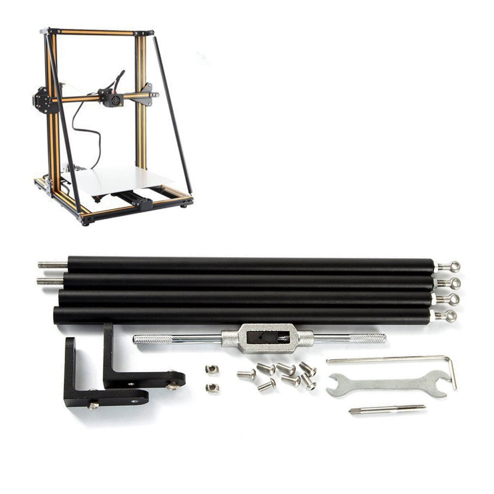 Funssor Creality Supporting Rod Kits Upgrade Part For CR-10 CR-10S 3D Printer Upgrade Supporting Rod Set