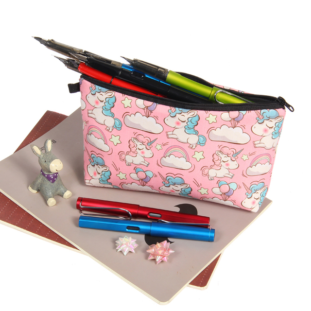 Jom Tokoy Printing Makeup Bags With Multicolor Pattern Cute Cosmetics Pouchs For Travel Ladies Pouch Women Cosmetic Bag 4
