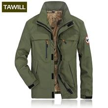 TAWILL бренд M-4XL куртка в стиле милитари Для мужчин bomber Coat армии Для мужчин куртки джинсовая одежда 2018 Новый GXB9802