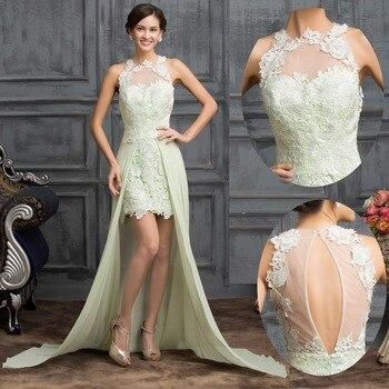 Pretty girl 2016 New Chiffon Sleeveless A-Line Long Bridesmaid Dresses champagne, ivory,Prom dresses Custom sizes Free shipping