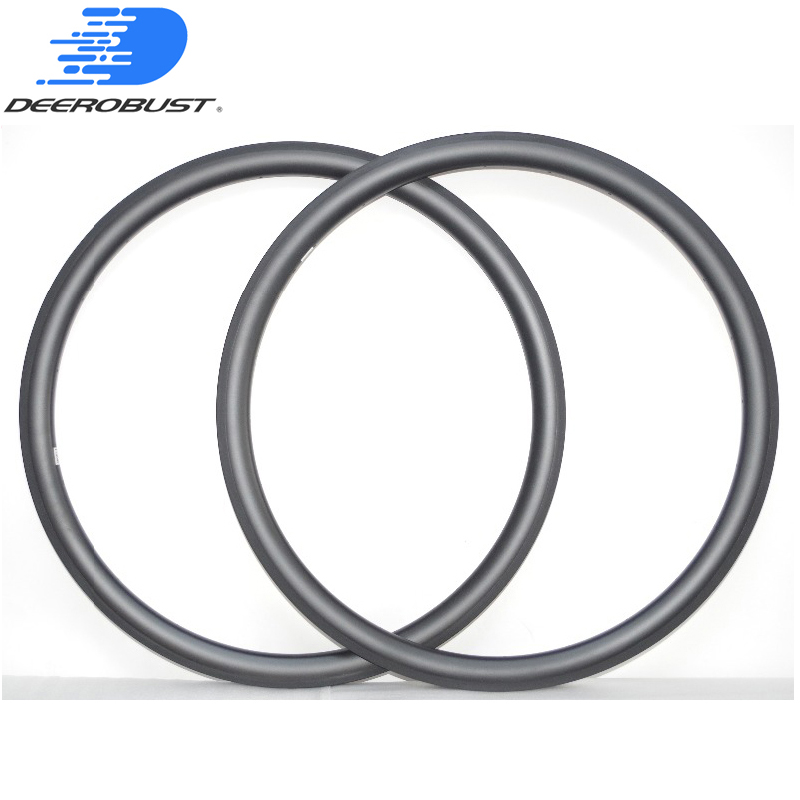 390g LIGHTEST T700&T800 38mm X 25mm 700C Carbon CLINCHER Road Bicycle Wheel Rims Bike Rim 20/24H UD 3K TWILL 12K TUBELESS Ready