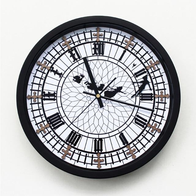 Ristoranti ouyun stereo creativo retro orologio da parete for Stereo casa
