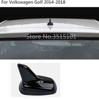 antenna Shark fin radio original paintwork paint shark fin roof Stick For Volkswagen VW Golf7 Golf 7 2014 2015 2016 2017 2018