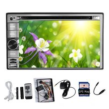 """Pure Android 4.2 GPS Navigation 2 DIN Car Stereo DVD CD Player In-Dash 6.2"""" HD Car PC Audio Radio WiFi BT IPOD Capacitive Touch"""