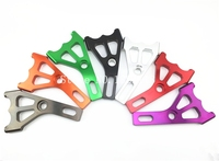 7 Color Electric Motorcycle Scooter Brake Caliper Disc Brake Pump Adapter Bracket For Yamaha RSZ BWS