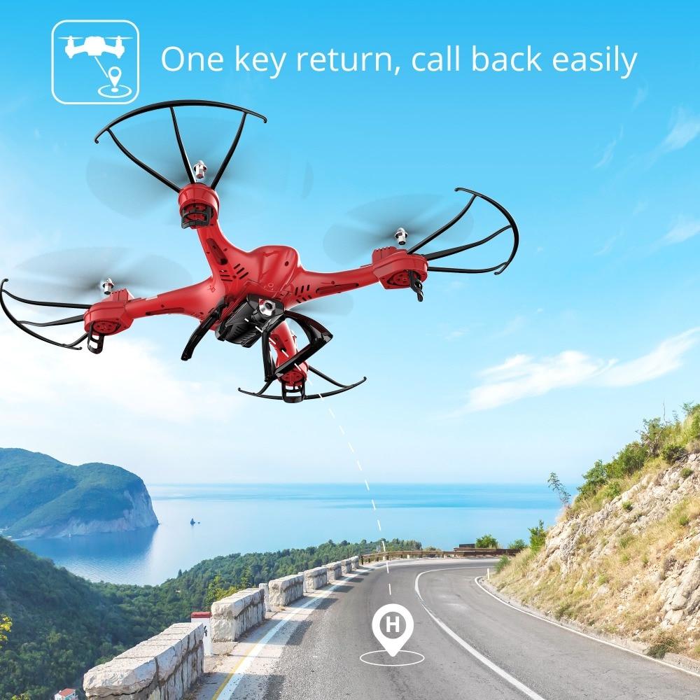 Holy Stone HS200 Red RC თვითმფრინავი FPV HD - დისტანციური მართვის სათამაშოები - ფოტო 3