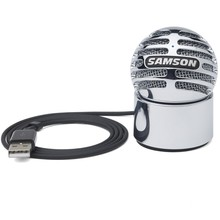 Original Samson Meteorite Usb Condenser Microphone For Skype Online Chat Universal Solution Computer Notebook Recording Support