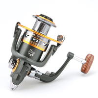 DIAODELAI DK11 Ball Bearing 5 1 1Gear Ratio FIshing Reel With Aluminium Alloy Line Cup Spinning