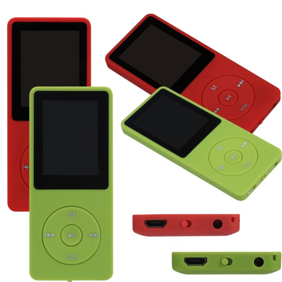 Reproductor De Vídeo portátil 4 GB Mini Slim Digital Reproductor de MP3 Pantalla