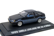 EBB RO 1:43 TOYOTA COROLLA LEVIN(AE86) 1983 boutique alloy car toys for children kids toys Model Original package(China)