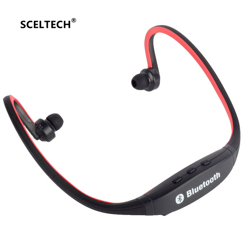 Sports Bluetooth Headphones Wireless Fone De Ouvido Auriculares Bluetooth Headset MIC S9 Support TF/SD Card Handfree Earphone original f5 sports bluetooth headset sd card slot auriculares music headphones mic ipx4 wireless earphones fm radio mp3 player