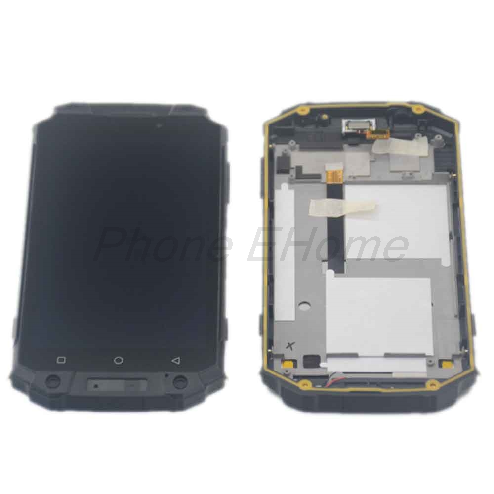 Poptel P9000 MAX LCD Display Touch Screen Digitizer Original LCD Screen Glass Panel Assembly For Poptel
