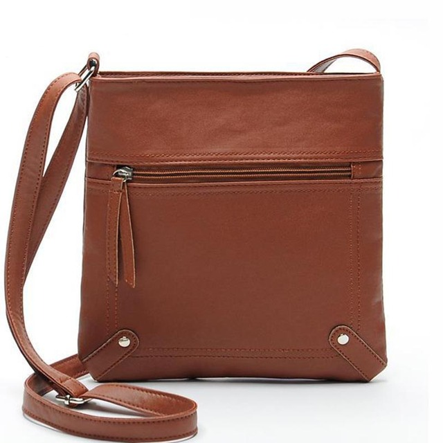 New brand simple style hot bags Women messenger Bags ladies bucket bag PU leather crossbody shoulder bag