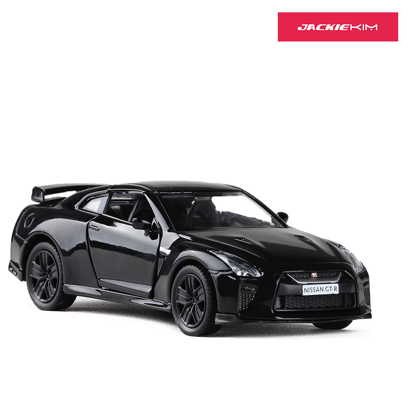 Die-cast Auto Coche Car Models MKD3 Alloy Simulation Scale Vehicle Toys for ChidlrenRMZ city Nissan GTR R35 1:36