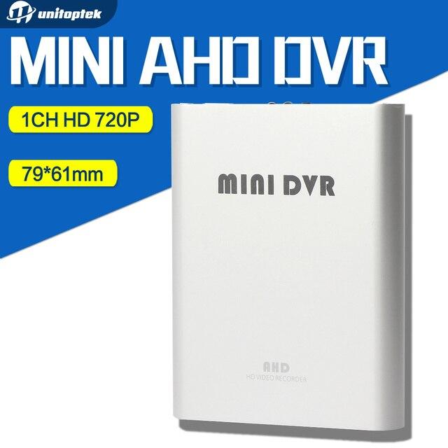 2017 NEW 1Ch Super Mini CCTV DVR Support SD Card Real-time HD 720P Mini 1Ch AHD DVR Board AVI Video Compression Color Silver