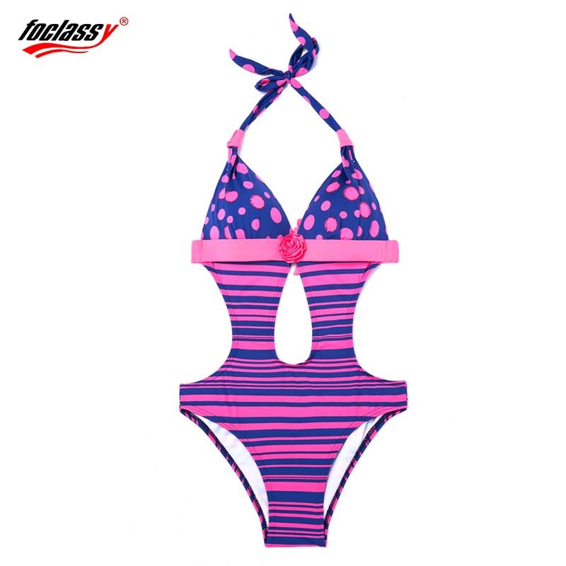 Foclassy új szexi fürdőruha csík plusz plusz méret 3xl nő - Sportruházat és sportolási kiegészítők - Fénykép 2