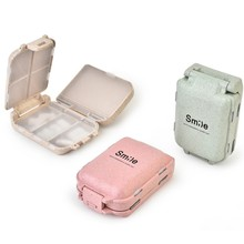 New Pills Medicine Storage Box Portable Travel Tablet Cutter Splitter Medicine Pill Holder Organizer Food Storage Plastic Box new organizer organizador 6 cell portable seal box home medicine chest cabinet plastic storage household eco friendly rectangle