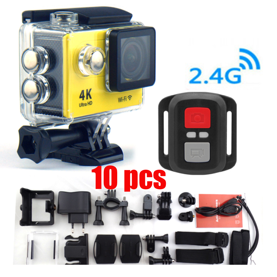 ФОТО H9R Ultra HD 4K Video 170 degrees Sports Camera 2-inch 1050Mah 1080p 60fps Watch Remote Control action Camera