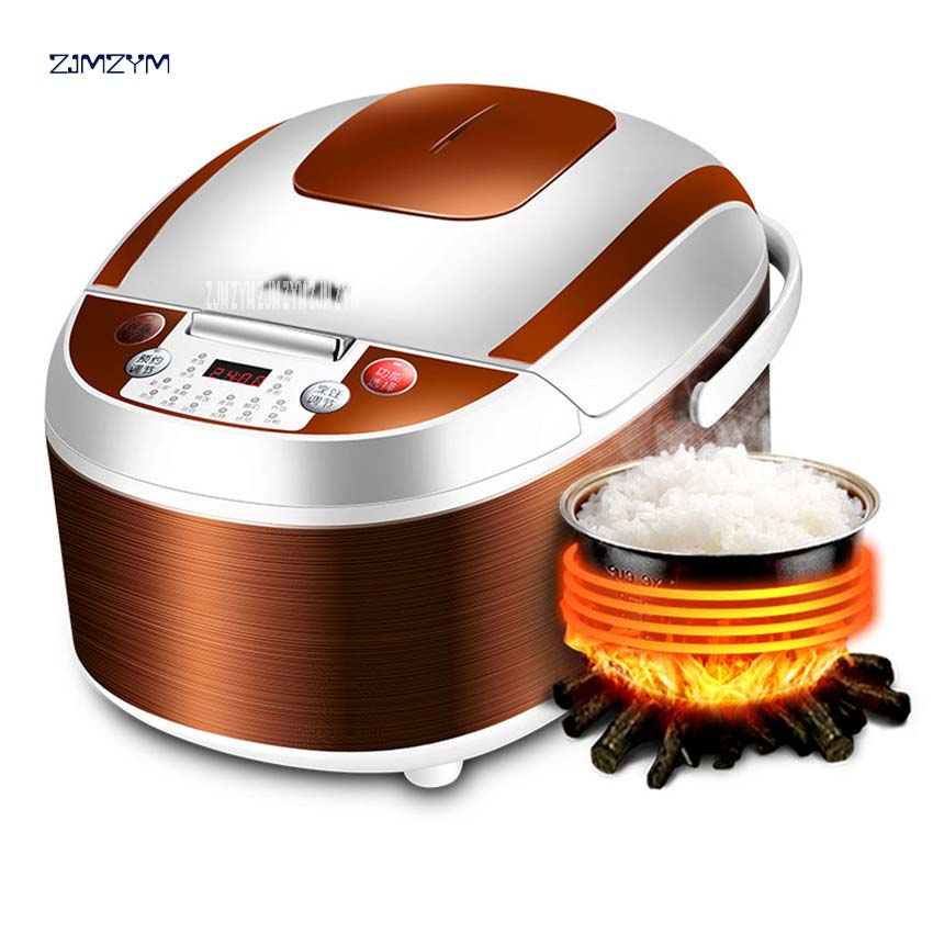 FC-40E Fully Automatic Home Intelligent 4L Capacity Rice Cooker Multifunctional Pot 3-6 People Aluminum Alloy Liner Material220V