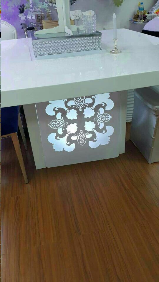 under table led