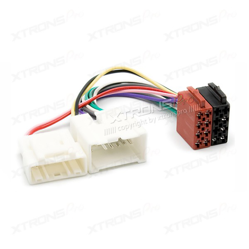 hight resolution of car iso wiring harness for renault logan sandero duster 2012 power radio wire cable auto