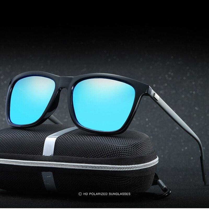 13dd71c29dcbc HD Polarizada Sunglases Homens Mulheres Óculos De Sol 2017 de Luxo Da Marca  Designer Gafas Oculos de sol Masculino Polarizado Espelhado masculino