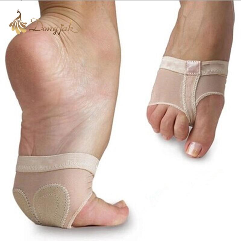 2017 בטן מקצועית / נעלי בלט ריקוד בלט עיסוק נעלי התעמלות הגנת חוטיני גרבי ריקוד חוטיני רגל למכירה T-1704