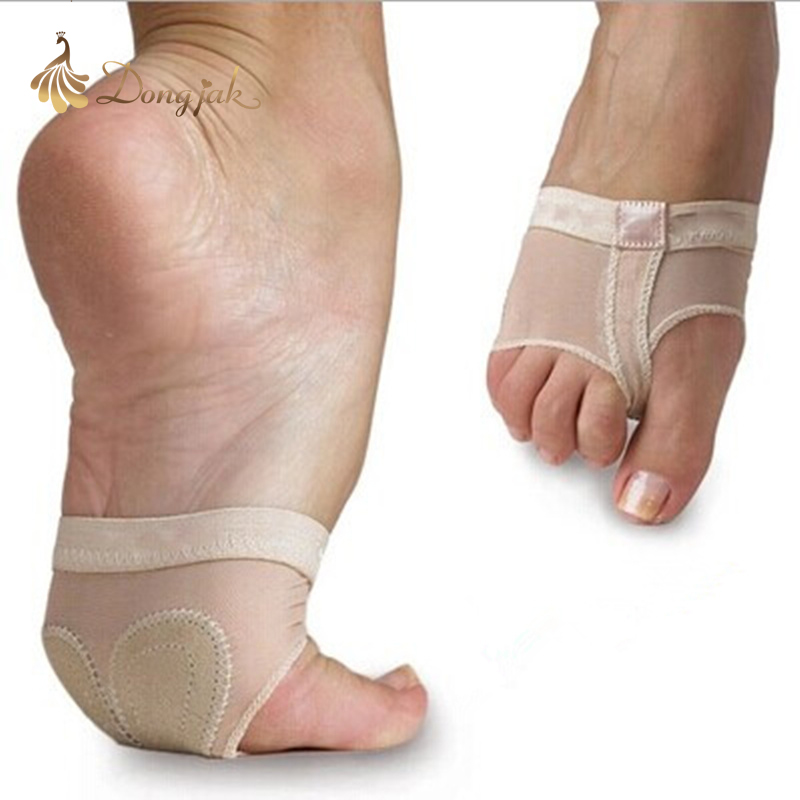 2017 Profesional Belly / Ballet Dance Toe Pad Latihan Kasut Foot Thong Perlindungan Stoking Tarian Kasut Thongs Untuk Dijual T-1704
