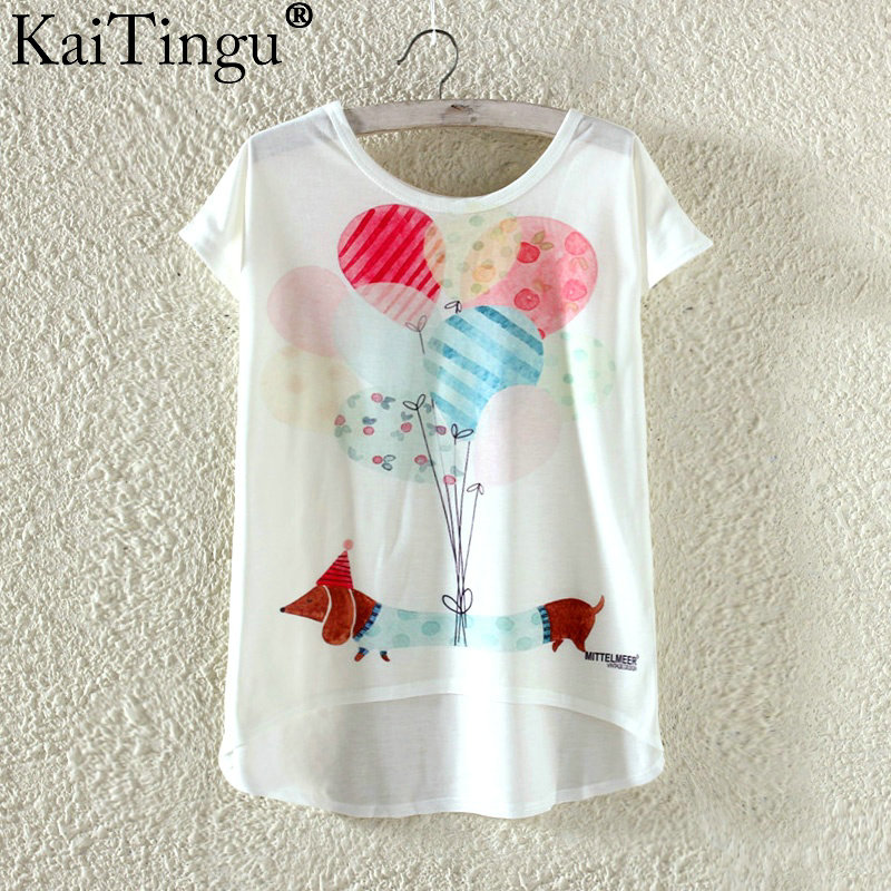 HTB11so0OVXXXXbDaXXXq6xXFXXXt - Kawaii Cute T Shirt Harajuku High Low Style Cat Print