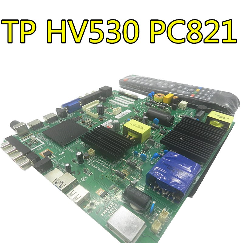 Для LEHUA три в одном сетевая ТВ плата android one plate TP. HV530.PC821 совместимый TP. HV510.PC821 с пультом дистанционного управления - 2